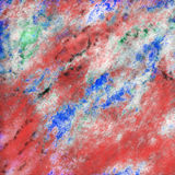 Pittura astratta della roccia fotografia stock libera da diritti