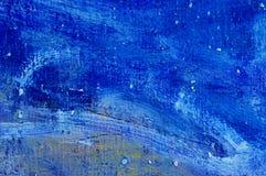 Pittura astratta di colori di olio Fotografia Stock