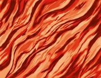 Pittura astratta di un fuoco bruciante con le fiamme selvagge Immagini Stock Libere da Diritti
