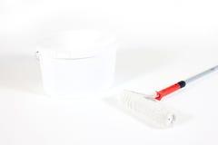 Pittura bianca immagine stock