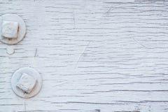 Pittura bianca boscosa immagini stock libere da diritti