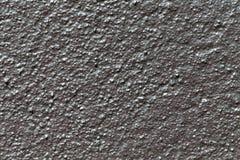 Pittura blu metallica strutturata Fotografia Stock