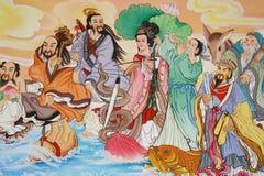 Pittura cinese Immagine Stock Libera da Diritti