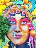 Pittura cinese di opera Fotografie Stock