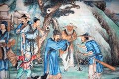 Pittura classica cinese Fotografie Stock Libere da Diritti
