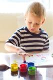 Pittura con le dita Immagine Stock Libera da Diritti