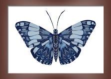 Pittura con le farfalle Immagine Stock