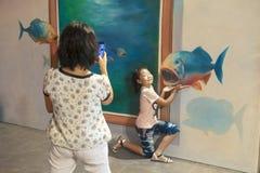 Pittura in 3D immagini stock libere da diritti