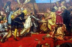 Pittura dal pittore polacco Jan Matejko Immagine Stock