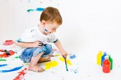 Pittura del bambino immagini stock