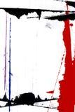 Pittura del bordo della pagina Immagine Stock Libera da Diritti
