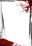 Pittura del bordo della pagina Fotografie Stock