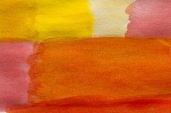 Pittura del color field Fotografia Stock
