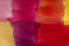 Pittura del color field Fotografia Stock Libera da Diritti