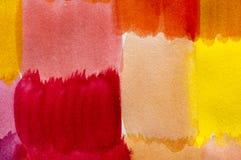 Pittura del color field Immagine Stock Libera da Diritti