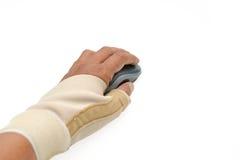 Pittura del dito di innesco Fotografie Stock Libere da Diritti