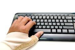 Pittura del dito di innesco Immagine Stock Libera da Diritti