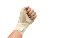 Pittura del dito di innesco Fotografie Stock