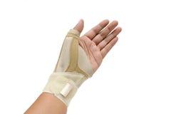 Pittura del dito di innesco Fotografia Stock Libera da Diritti