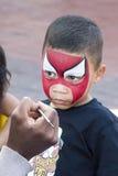 Pittura del fronte del bambino Fotografia Stock Libera da Diritti