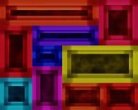 Pittura del materiale illustrativo della cornice Fotografia Stock