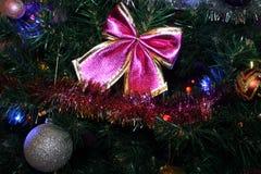 Pittura del nuovo anno e di Natale Immagini Stock
