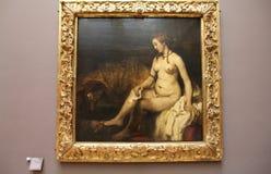 Pittura del Rembrandt Fotografia Stock Libera da Diritti