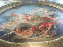 Pittura del soffitto Immagini Stock