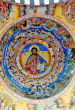 Pittura del tetto alla chiesa del monastero di Rila Immagini Stock Libere da Diritti