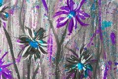 Pittura dell'acquerello fotografia stock