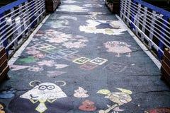 Pittura dell'asfalto immagine stock libera da diritti