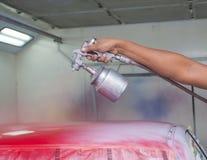 Pittura dell'automobile fotografie stock