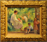 Pittura dell'impressionista Fotografie Stock