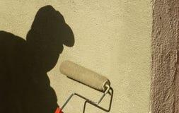 Pittura dell'ombra Immagini Stock