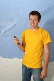 Pittura dell'uomo fotografie stock libere da diritti