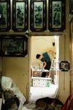Pittura della ceramica Immagine Stock