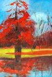 Pittura della natura. Fotografie Stock