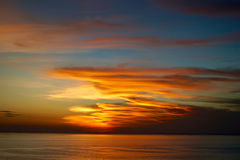 Pittura della nuvola Fotografia Stock