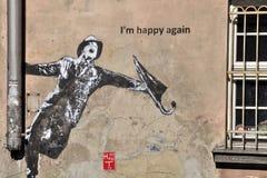Pittura della parete Immagini Stock Libere da Diritti