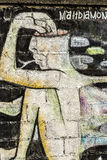 Pittura della parete, Koh Phangan, Tailandia Fotografia Stock