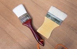Pittura della spazzola Immagine Stock