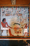 Pittura della tomba di Sarenput II Fotografie Stock Libere da Diritti