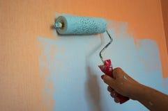 Pittura delle pareti immagine stock