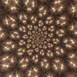Pittura dgital sparsa delle luci Fotografia Stock