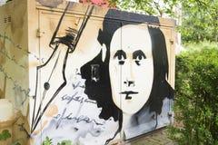 Pittura di Anne Frank immagine stock libera da diritti