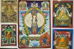 Pittura di Buddha fotografie stock libere da diritti