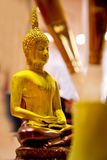 Pittura di Buddha Staute Fotografia Stock
