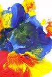 Pittura di colore Fotografie Stock Libere da Diritti