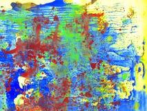 Pittura di colori del fondo tre Immagine Stock Libera da Diritti