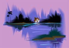 Pittura di Digitahi Fotografie Stock Libere da Diritti